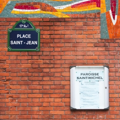 Eglise Saint-Michel dite des Batignolles -  Place Saint-Jean (Paris)