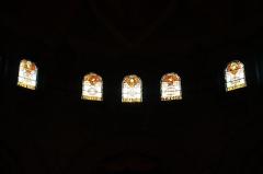 Eglise Saint-Michel dite des Batignolles -  Stained glass @ Église Saint-Michel des Batignolles @ Paris   Église Saint-Michel des Batignolles, 3 Place Saint-Jean, 75017 Paris, France.