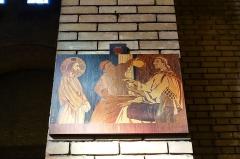 Eglise Saint-Michel dite des Batignolles -  Station of the Cross @ Église Saint-Michel des Batignolles @ Paris   Église Saint-Michel des Batignolles, 3 Place Saint-Jean, 75017 Paris, France.