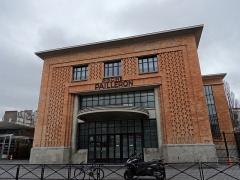 Piscine Pailleron -  rue Pailleron, Paris 19e