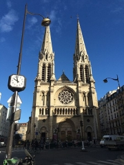 Église Saint-Jean-Baptiste-de-Belleville -  Saint-Jean-Baptiste de Belleville, Paris.