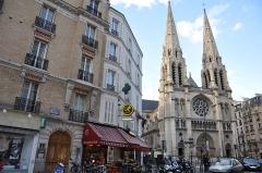 Église Saint-Jean-Baptiste-de-Belleville -  Église Saint-Jean-Baptiste de Belleville, Paris.