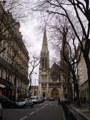 Église Saint-Jean-Baptiste-de-Belleville -  Église Saint-Jean-Baptiste de Belleville, Paris