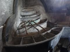 Eaux de Belleville - Détail intérieur de la fontaine et regard du Pré-Saint-Gervais: dispositif de répartition de l'eau, 17ème siècle. (Seine-Saint-Denis, région Île-de-France).