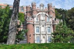 Château des Gadelles (également sur commune de Sainte-Adresse) - English: Castle in Le Havre (France, Normandy)
