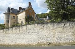 Château de Vaux - Deutsch: Château (Schloss) in Vaux-sur-Seine im Département Yvelines (Île-de-France/Frankreich)