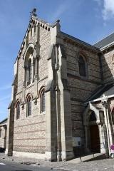 Eglise Saint-Lubin et Saint-Jean-Baptiste - Deutsch: katholische Pfarrkirche Saint-Lubin in Rambouillet im Département Yvelines (Île-de-France)