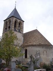 Eglise Saint-Martin -  Église de Bazoches-sur-Guyonne (Yvelines, France)