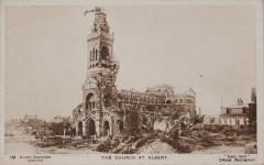 Basilique de Notre-Dame-de-Brébières -  World War I Daily Mail Official War Photograph, Series 21, No. 168, titled