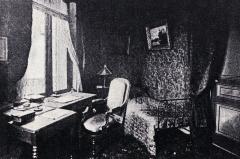 Maison Jules Verne - Français:   La maison du 2 rue Charles Dubois à Amiens (Somme), où Jules Verne a vécu de 1882 à 1900. Le cabinet de travail de l\'écrivain situé au 2e étage.