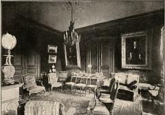 Maison Jules Verne - Français:   La maison du 2 rue Charles Dubois à Amiens (Somme), où Jules Verne a vécu de 1882 à 1900. Vue du grand salon, appelé aussi \