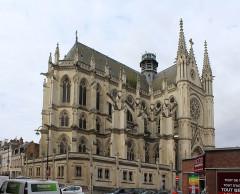 Eglise Saint-Remi et couvent des Cordeliers - English: Amiens, the church Saint-Remi