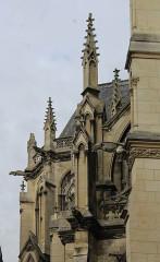 Eglise Saint-Remi et couvent des Cordeliers - English: Amiens, the church Saint-Remi, details