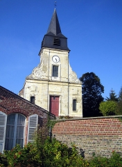 Eglise d'Heilly -  Heilly (Somme, France) -    L'église.