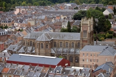 Eglise Sainte-Anne - Français:   Eglise Sainte-Anne vue depuis la Tour Perret
