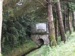 Canal du Midi : tunnel des Cammazes - Français:   La voûte Vauban, sortie nord, en 2002