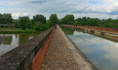 Pont-canal du Cacor -  Sur le pont canal de Moissac (82)