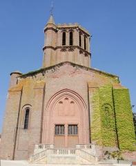 Eglise Saint-Sauveur - Français:   Castelsarrasin - Église Saint-Sauveur - Façade occidentale