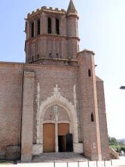 Eglise Saint-Sauveur - Français:   Castelsarrasin - Église Saint-Sauveur - Portail latéral nord