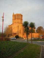 Eglise Saint-Sauveur -  Eglise Saint-Sauveur/ Castelsarrasin