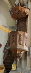 Eglise Saint-Sauveur - Français:   Castelsarrasin - Église Saint-Sauveur - Chaire