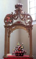 Eglise Saint-Sauveur - Français:   Castelsarrasin - Église Saint-Sauveur - Pavillon de Saint-Alpinien (18ème siècle)