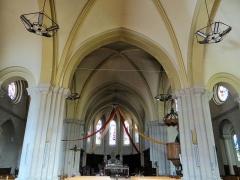 Eglise Saint-Sauveur - Français:   Castelsarrasin - Église Saint-Sauveur - Nef