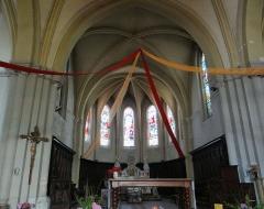 Eglise Saint-Sauveur - Français:   Castelsarrasin - Église Saint-Sauveur - Choeur