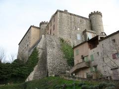 Château - English: Saint Martin de Pallières - France - Var - Castle Saint Martin view from the place des Bancau