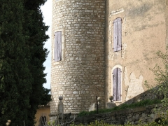 Château - English: martin Saint Martin de Pallières - France - Var - Castle Saint detail view