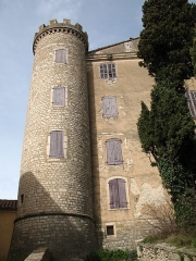 Château - English: Saint Martin de Pallières - France - Var - Castle Saint Martin detail view