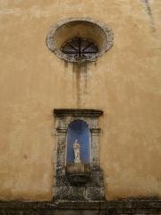 Eglise paroissiale Saint-Martin - English: Saint-Martin-de-Pallières - Var - France - Notre-Dame-de-l'Assomption (front detail)