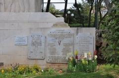 Monument aux morts de la guerre de 1914-1918 -  Aux Toulonnais Morts pour la Patrie, Toulon