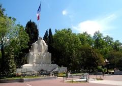 Monument aux morts de la guerre de 1914-1918 - Occitan: Monument dei mòrts, Tolon