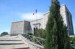 Tour Beaumont, située Colline du Mont-Faron, actuel Mémorial du débarquement en Provence -  Mémorial du Mont Faron
