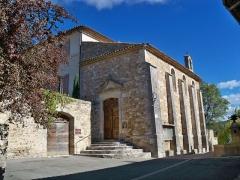 Château - Français:   église de Gignac, Vaucluse, France