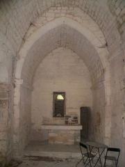 Chapelle Saint-Véran - Français:   Nef de la chapelle Saint Véran à Goult, Vaucluse, France