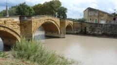 Pont sur l'Ouvèze -  Pont sur l'Ouvèze de Bédarrides