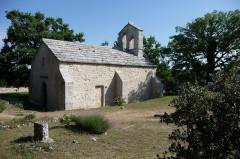 Ancienne église Sainte-Marie, actuelle chapelle du cimetière - Deutsch: Sainte-Marie, Buoux