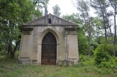 Cimetière israélite dit aussi cimetière juif - Français:   cimetière juif de Carpentras: dépositoire