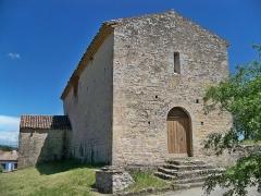 Ancien cinéma - Chapelle Notre-Dame de Beauvoir de Beaumont-de-Pertuis décor intérieur (Inscrit)
