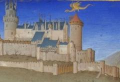 Château médiéval - English: Detail from