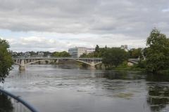 Pont Camille-de-Hogues - Français:   Le pont Camille de Hogues, vu depuis l\'ancienne manufacture sur la rive sud-ouest
