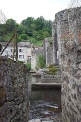 Pont de Noblat, dit aussi le Vieux Pont, sur la Vienne - Deutsch: Brücke in Saint-Léonard-de-Noblat im Département Haute-Vienne der Region Limousin (Frankreich)