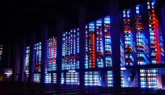 Eglise Notre-Dame au Cierge - Deutsch:   Buntglasfenster von Unserer Lieben Frau der Kerzen, Épinal, Département Vogesen, Region Lothringen (heute Großer osten), Frankreich