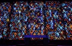 Eglise Notre-Dame au Cierge - Deutsch: Chorfenster von Unserer Lieben Frau der Kerzen, Épinal, Département Vogesen, Region Lothringen (heute Großer osten), Frankreich