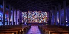 Eglise Notre-Dame au Cierge - Deutsch:   Langhaus von Unserer Lieben Frau der Kerzen, Épinal, Département Vogesen, Region Lothringen (heute Großer osten), Frankreich