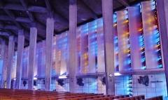 Eglise Notre-Dame au Cierge - Deutsch:   Lichtspiele in Unserer Lieben Frau der Kerzen, Épinal, Département Vogesen, Region Lothringen (heute Großer osten), Frankreich
