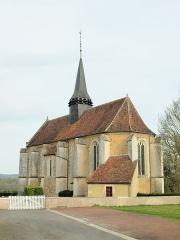 Eglise Saint-Jacques et Saint-Marcel - Lalande (Yonne, France)