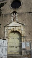 Eglise Saint-Savinien-le-Jeune - Français:   Eglise Saint-Savinien-le-jeune de Sens (portail)